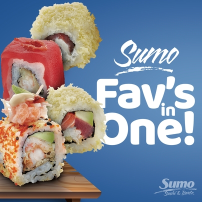 SUMO FAV'S IN ONE Limited Offer