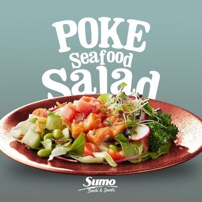 POKE SEAFOOD SALAD Special of the Month