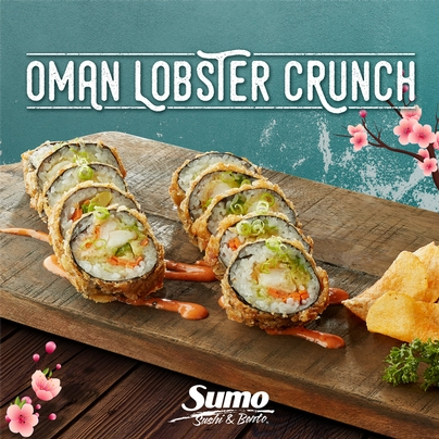 OMAN LOBSTER CRUNCH* Roll of the Month