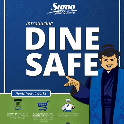DINE SAFE Sumo Introducing DINE SAFE