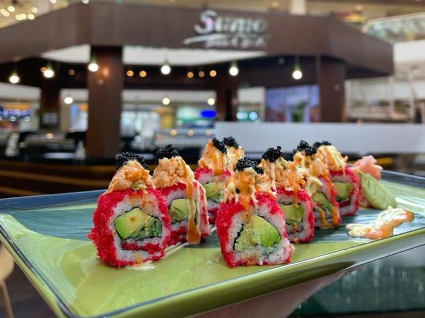 Sumo Sushi Love Roll, Available in February