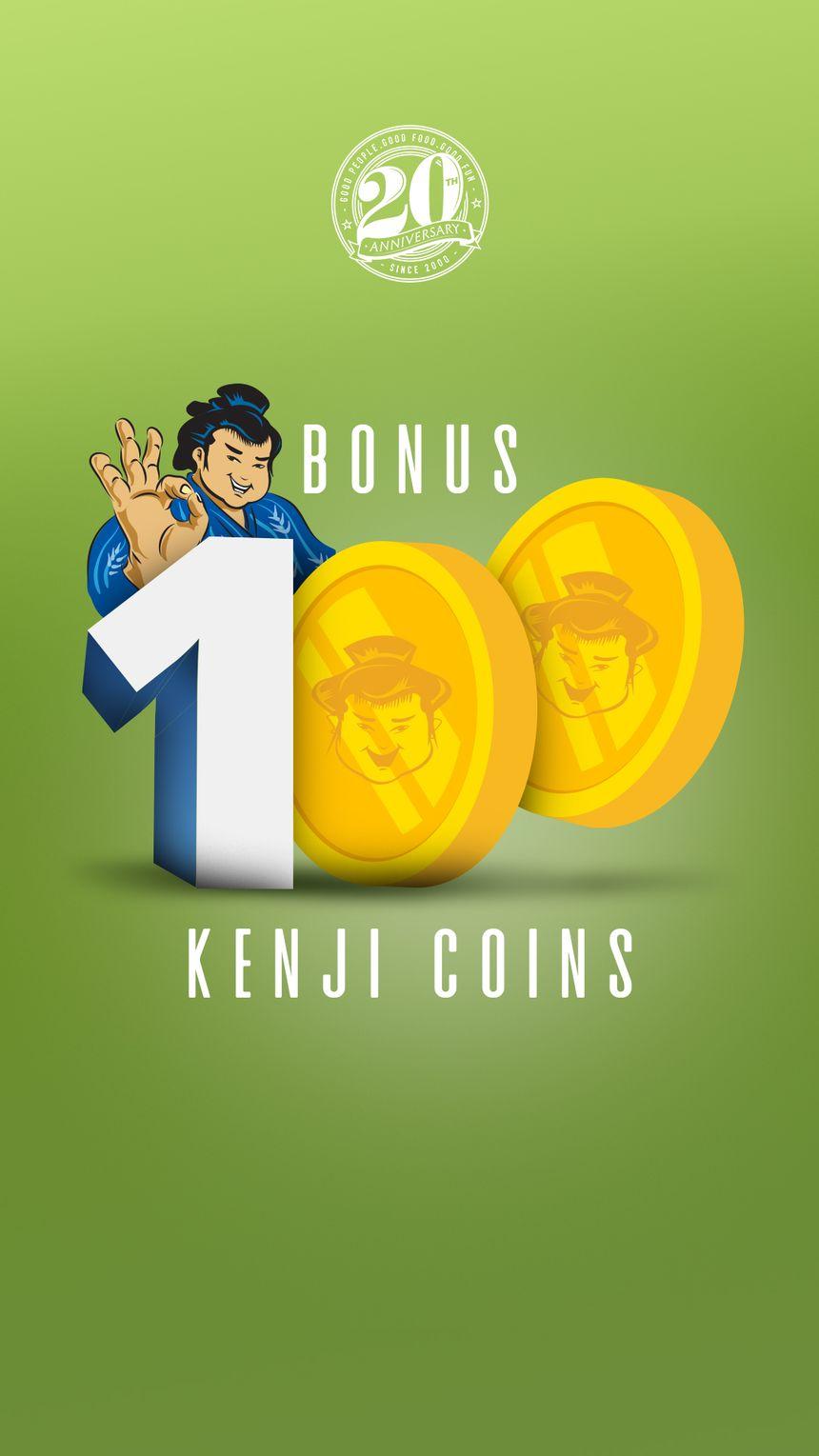 BONUS100KenjiCoins