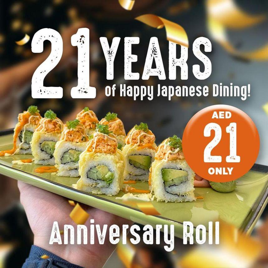 anniversary roll